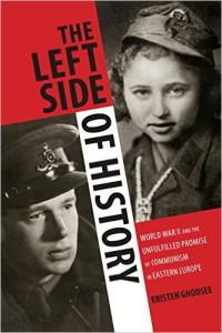 Left side of history cover