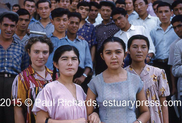 1961Tashkent Students T16 058