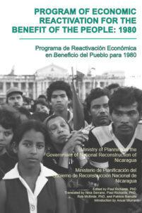1980 Nicaraguan Program of Economic Reactivation for the Benefit of the People