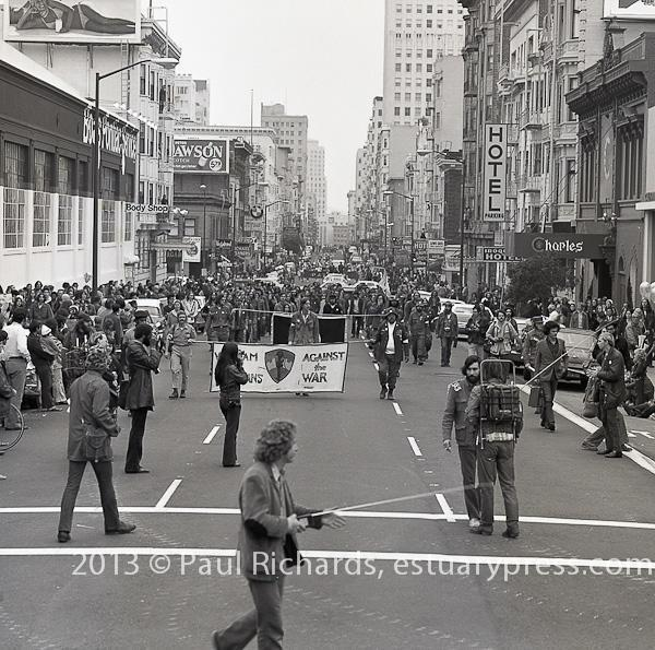 October 22, 1972, San Francsico Veterans Day Parade