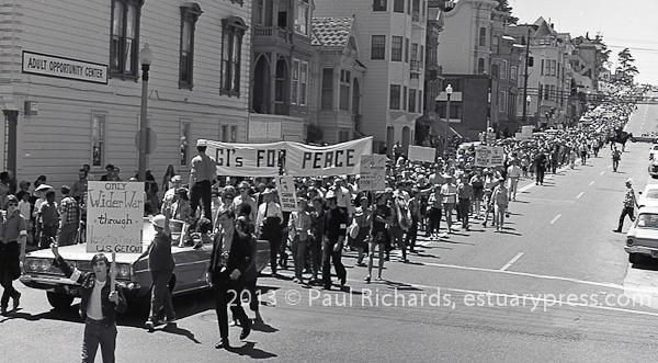 April 27, 1968 San Francisco Peace March