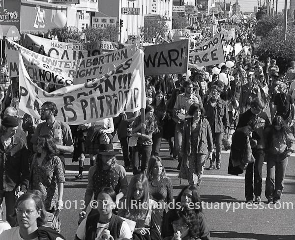 Spring 1971 San Francisco March against the War in Vietnam