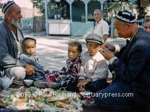 Tashkent family: Far from Moscow