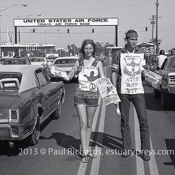 August 26, 1972 Travis Air Force Base Picket