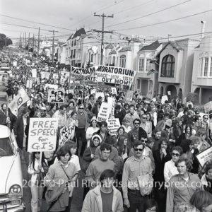 Vietnam War Moratorium  Nov 15, 1969 SF Moratorium Peace March