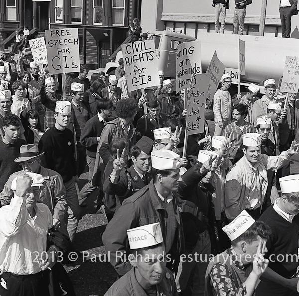 GI March for Peace, October 12, 1968.