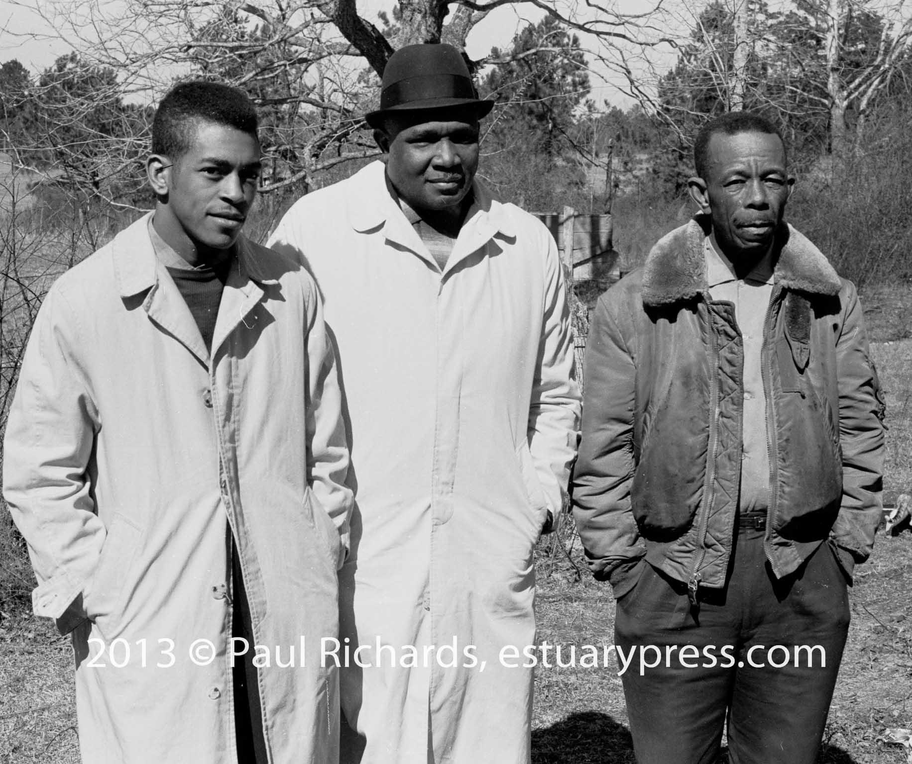 1963, Mississippi.  Voter Registration Activists