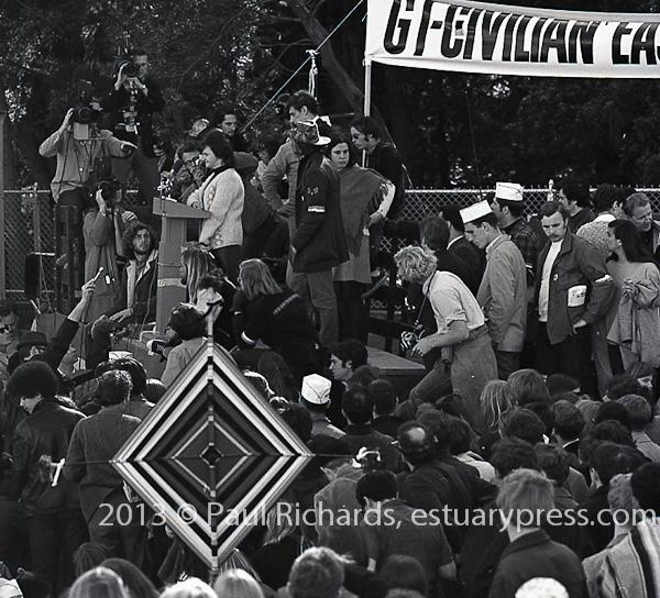 GIs March to the San Francisco Presidio, 1969