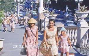Women and Children in Sochi, 1961