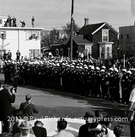 Vietnam Day Committee October 1965 Protest Meets Oakland Police