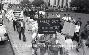 Peace and HUAC: 1962, Los Angeles, CA, demonstration to Abolish HUAC.