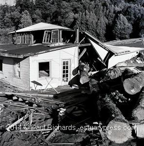 A recently discovered reel of film of the December 1965 northern California flood.