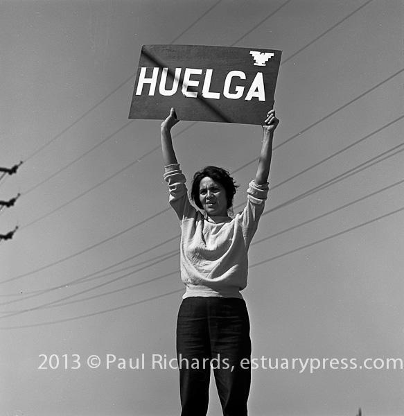 September 24, 1965, Delano, CA, Grape Strike, Dolores Huerta