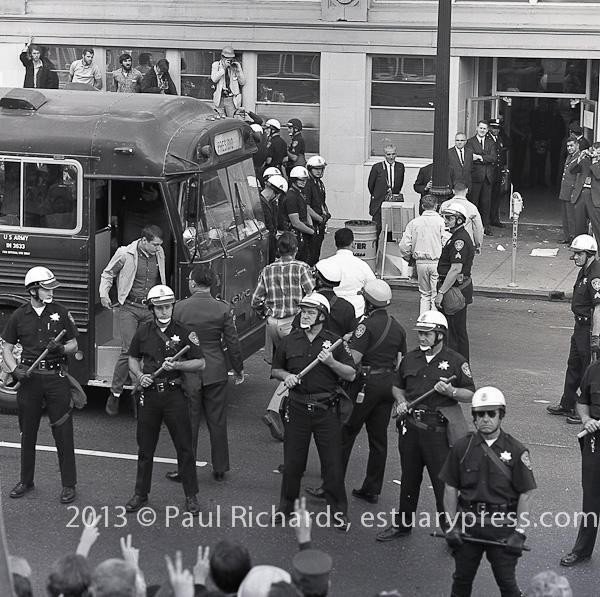 October, 1967, Oakland, CA, Stop the Draft.