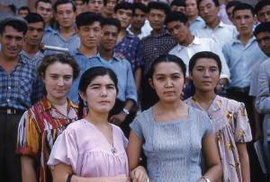 Women and Children in Tashkent, 1961