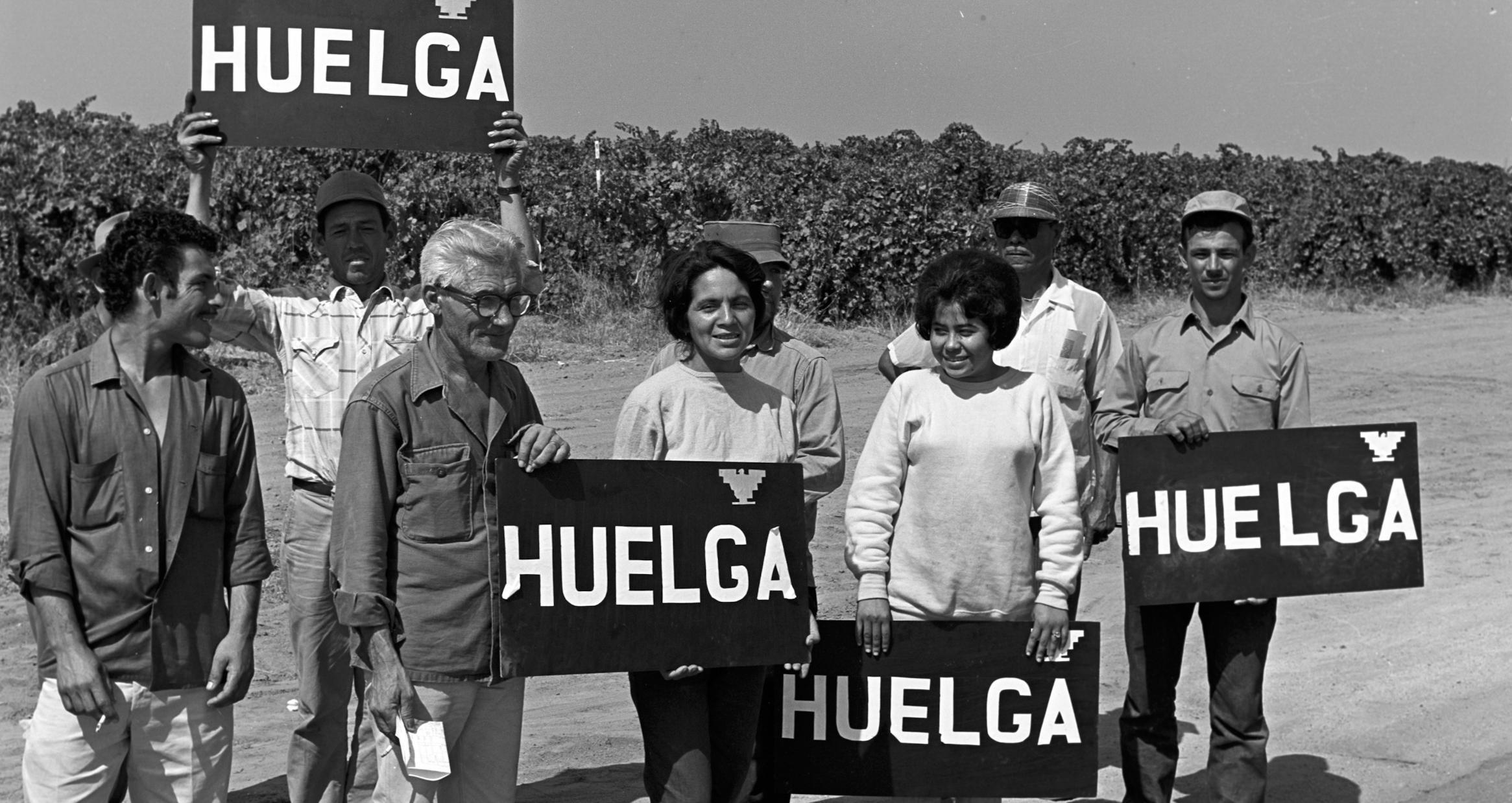September 24, 1965, Delano, CA, Grape Strike,