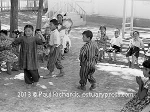 Women and Children in Tashkent, 1961