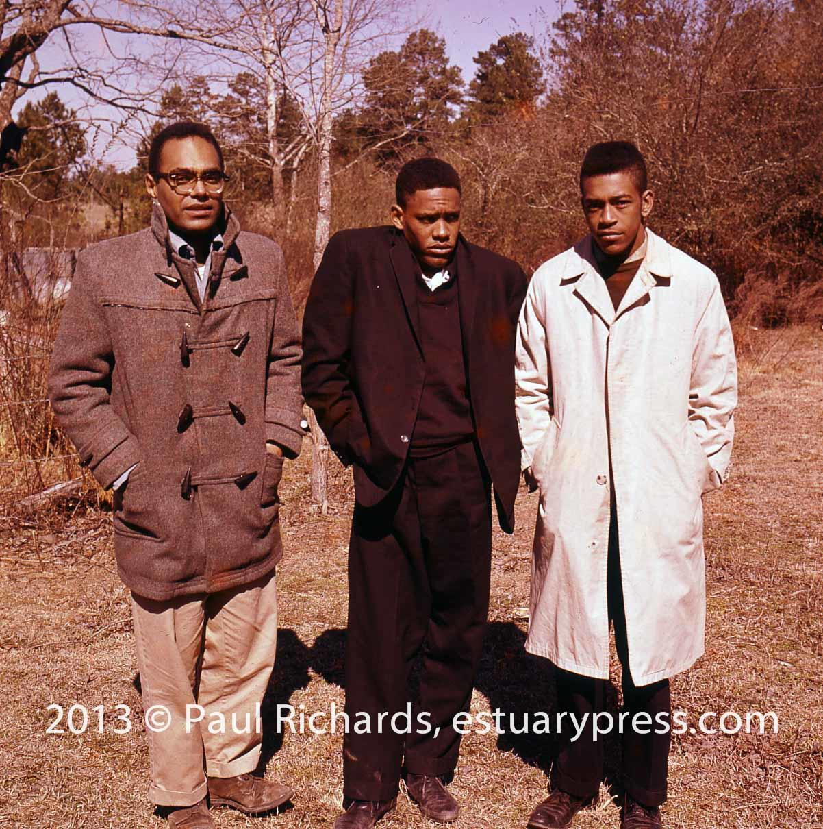 1963, Mississippi Voter Registration Activists.