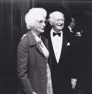 Alice and Linus Pauling 1992
