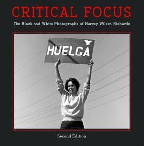 Critical Focus Second Edition cover image, Dolores Huerta, Delano, September, 1965