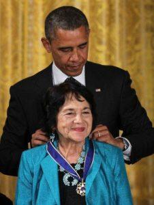 Dolores Huerta Then and Now