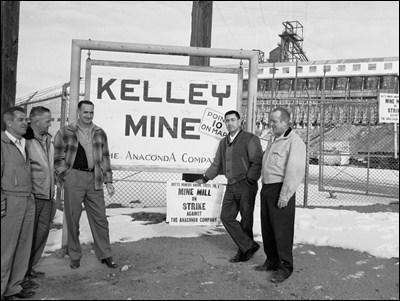 Kelley Mine strikers