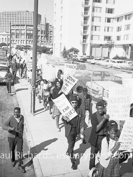 1963, San Francisco, March Against Police Brutality.