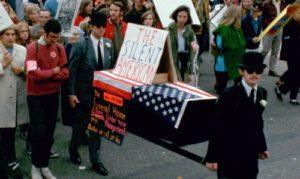 Silent American coffin small