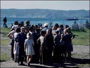 Alice in Irkutsk, Siberia, USSR, 1961