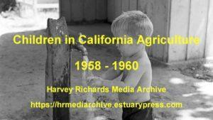 children in california agricultu