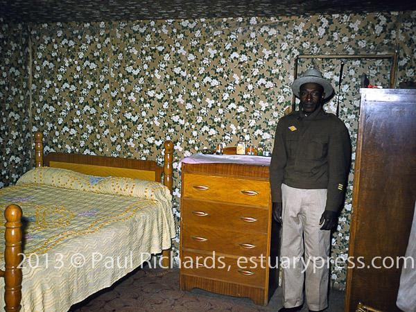 man in bedroom