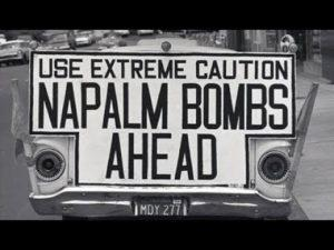 stop napalm actions 1966