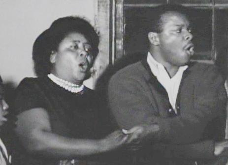 Fannie Lou Hamer in South Outs 1963