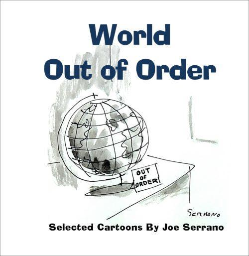 World Out of Order front cover with frame
