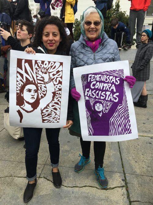 2017 Womens March jessica n Nina