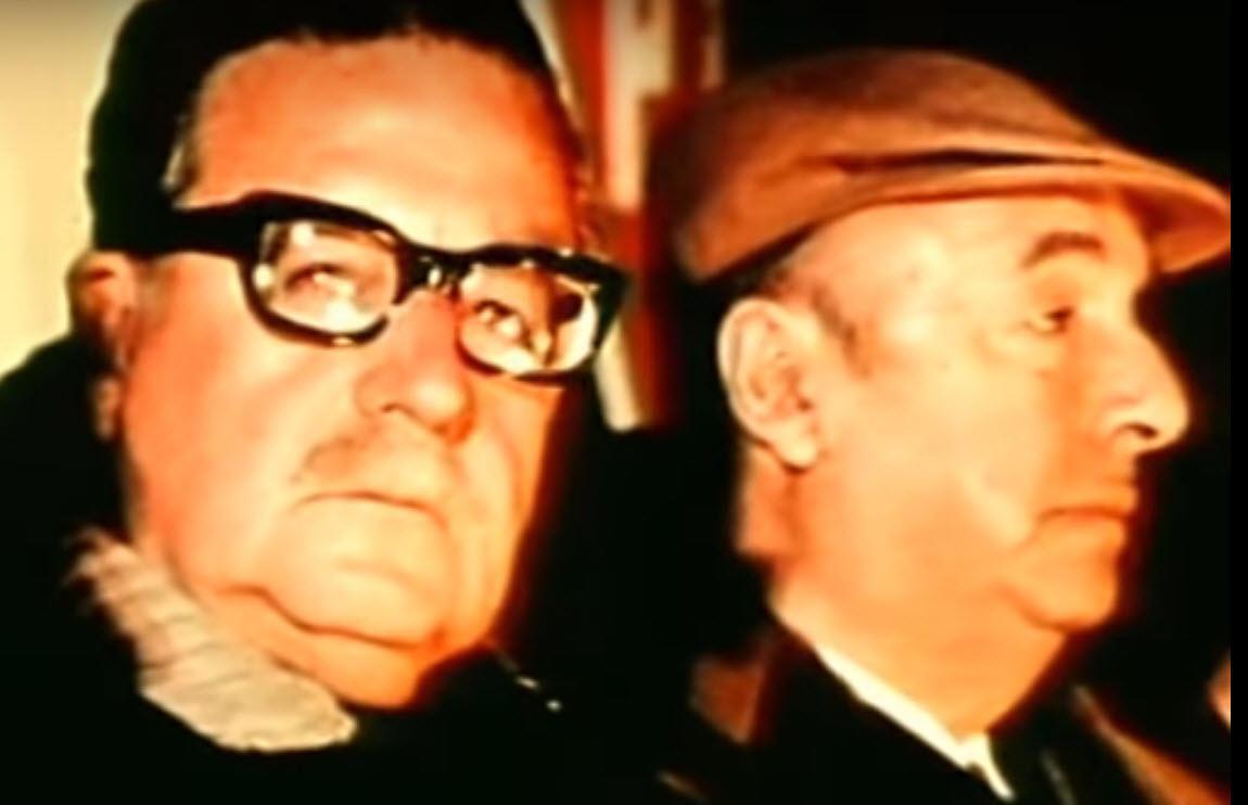 Salvador Allende and Poet Pablo Neruda
