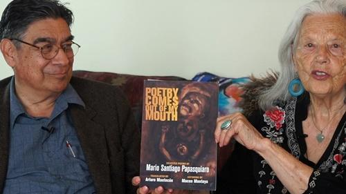 """Arturo Mantecón and Nina Serrano on Literary Dialogs """"Poetry Comes Out of My Mouth"""""""