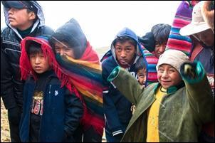 Bolivian Children by Tupac small
