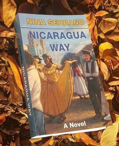 Nina Serrano speaking on Lorna Almendros, the protagonist of Nicaragua Way, a Novel.