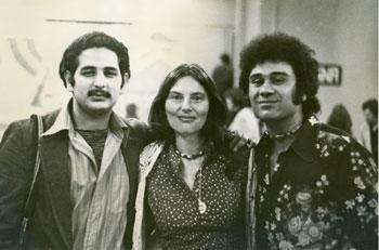 Victor Hernandez Cruz, Nina Serrano, Roberto Vargas, 1973