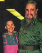 Estella Bravo and Fidel