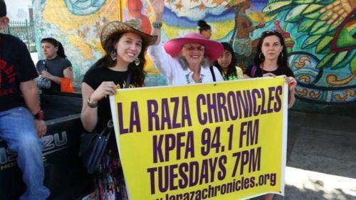 La Raza Chronicles march Tupac3