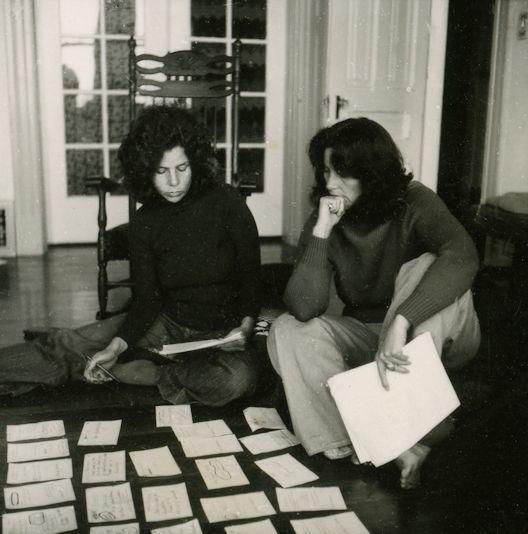 Judith Binder and Nina Serrano, 1976