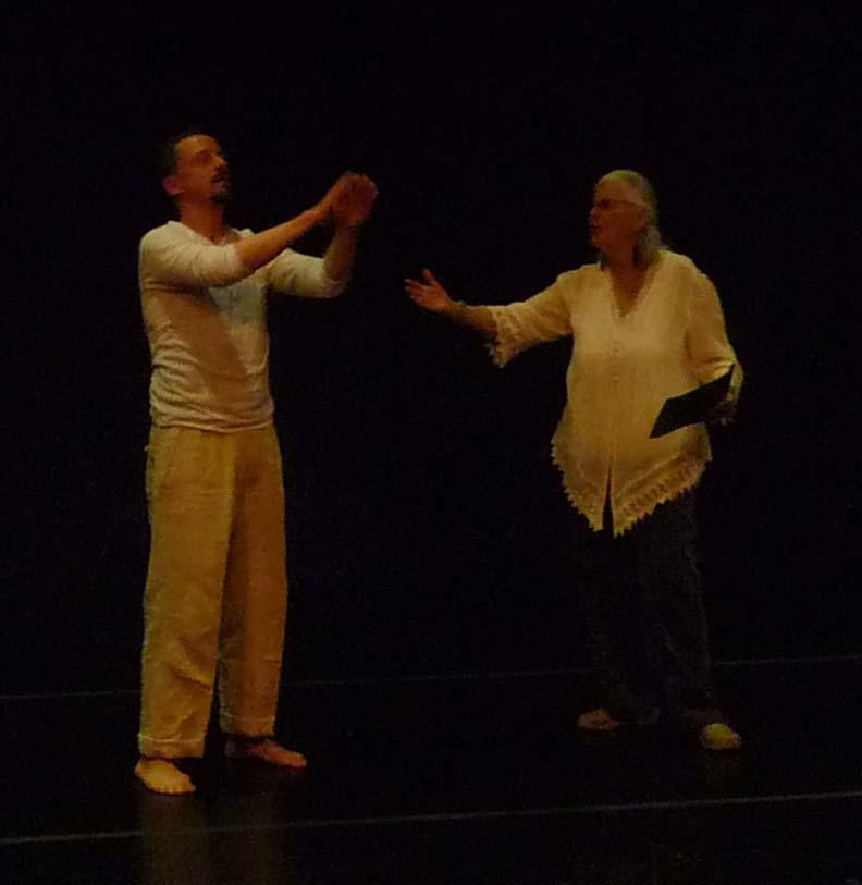 Dance Poetry: Nina Serrano and Dance Generators, San Francisco, April 19, 2013