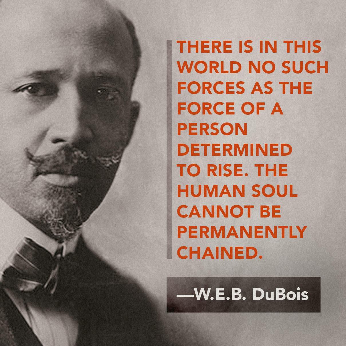 WEB DuBois poster
