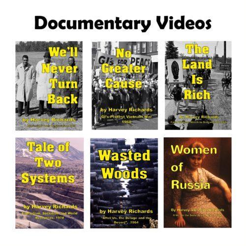 Documentary Videos white