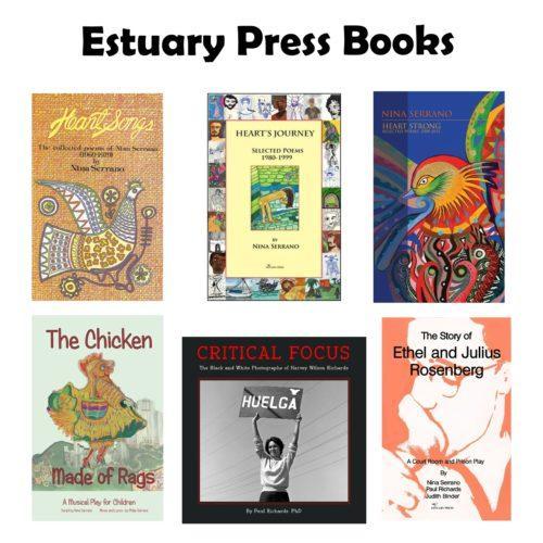 Estuary Press Books white