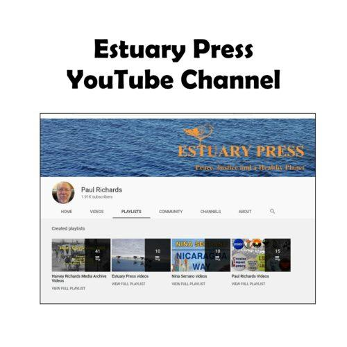 Estuary Press YouTube graphic white