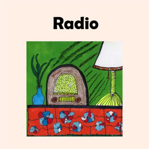 Radio image peach