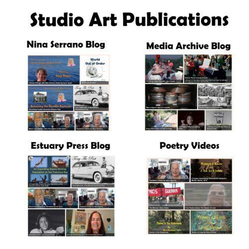 Studio Art Publications no borders white